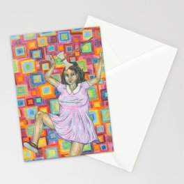 the mad one Stationery Cards