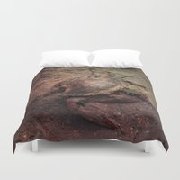 crab Duvet Covers featuring Crab Nebula by Distortion Art