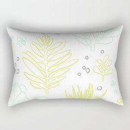 A Succulent Hello Rectangular Pillow