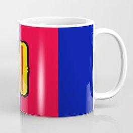 soccer team jersey number ten Coffee Mug