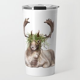 Derp Deer Travel Mug