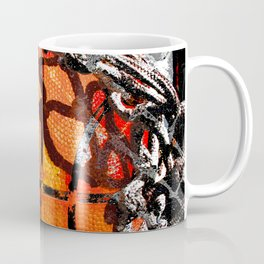 Basketball art swoosh vs 35 Coffee Mug