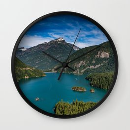 Lake Diablo Wall Clock