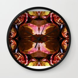 Dry Valentines Wall Clock