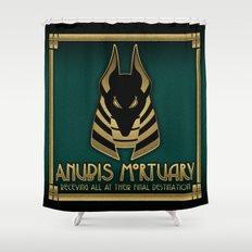 Anubis Mortuary Shower Curtain