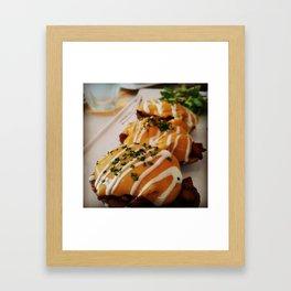 Cheesy Potatoes Framed Art Print