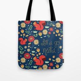 Let's go nuts! - Surface Pattern Design - ByBeck Tote Bag