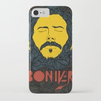 bon iver iPhone & iPod Cases featuring Bon Iver by Oliveira37/Tadeu Amaral