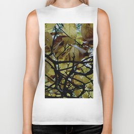 Umbrella Tree ~ Autumn Biker Tank