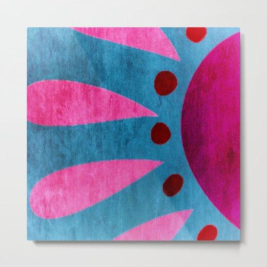 Colorful Sensation Metal Print