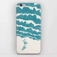 ilovedoodle iPhone & iPod Skins featuring To the sea by I Love Doodle