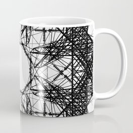 Symmetrical Power Coffee Mug