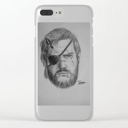 Punished Venom Snake - Metal Gear Solid V: The Phantom Pain Clear iPhone Case