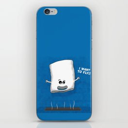 I want to fly iPhone Skin