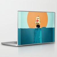 fish Laptop & iPad Skins featuring fish  by mark ashkenazi