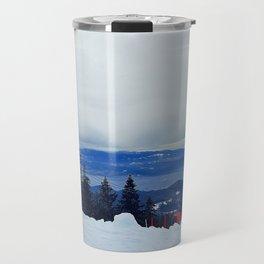 ski resort Travel Mug