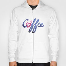 Coffee Lover Typography Hoody