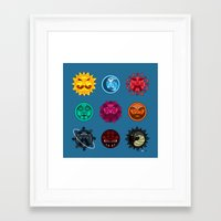 astrology Framed Art Prints featuring Astrology by Karthik