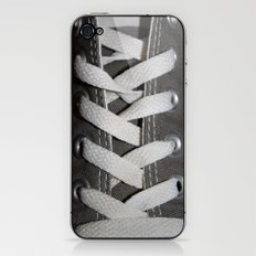 All Laced Up And Nowhere To Go iPhone & iPod Skin