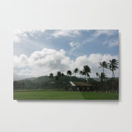 Small Town Maui Metal Print