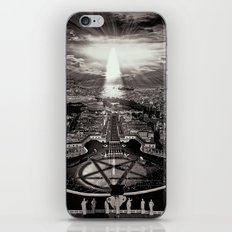 Vatican Rocking View Black and White iPhone & iPod Skin