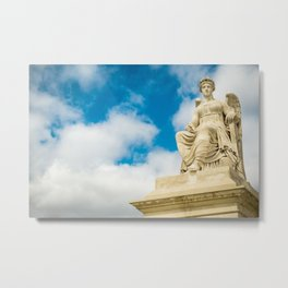 Sitting Angel Metal Print