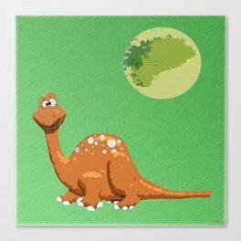 Dino Doodle Canvas Print