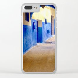 Tangier Morocco Medina Clear iPhone Case