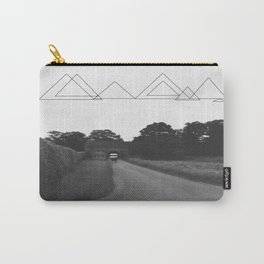 Uneven Sky Over an English Roadway Carry-All Pouch
