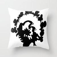 turkey Throw Pillows featuring Turkey by ken green art