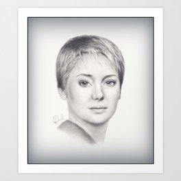 Tris Prior Art Print