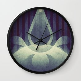 Rhea - The Splat Wall Clock