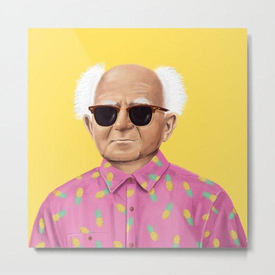 The Israeli Hipster leaders - David Ben Gurion Metal Print
