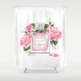 Miss pink Shower Curtain