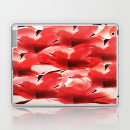 Red Poppies - Painterly Laptop & iPad Skin
