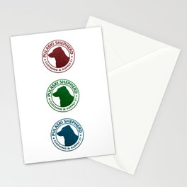 Red Green Blue Stationery Cards