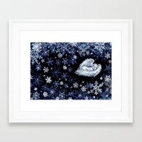 holiday Framed Art Prints featuring Holiday by Ivanushka Tzepesh