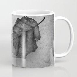 Frozen Leaf. Coffee Mug