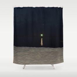 Green Gatsby Shower Curtain