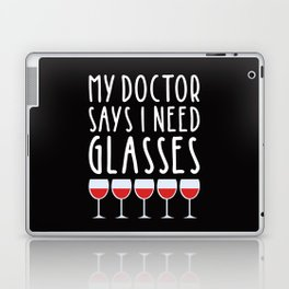 My doctor says I need glasses Laptop & iPad Skin