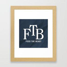 FTB Logo Framed Art Print