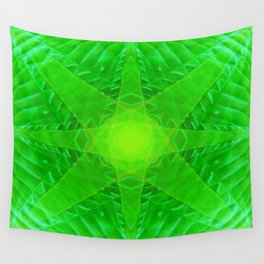 green star Wall Tapestry