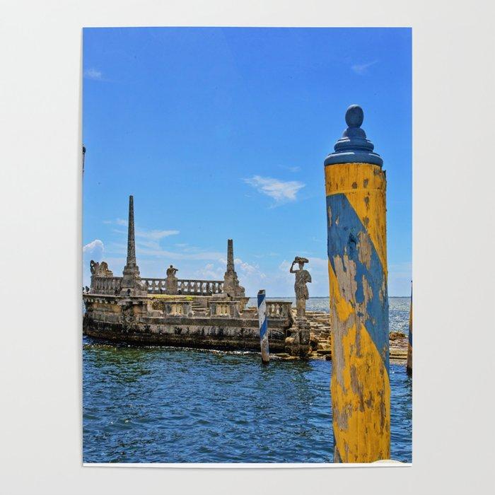 Vizcaya Barge Adventures Poster