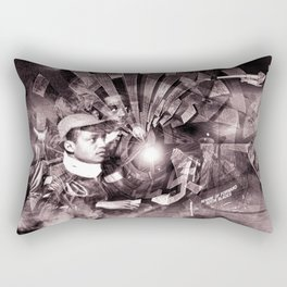 """Tuskegee & Beyond"" B&W Rectangular Pillow"