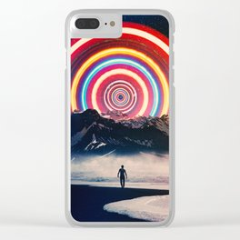 Behind The Mountain Clear iPhone Case