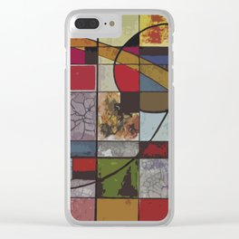 Circle of Colors Clear iPhone Case