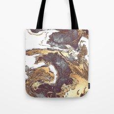Black White Gold Tote Bag