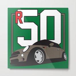 R50 Metal Print