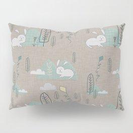 Cute Bunny woodland #nursery #homedecor Pillow Sham