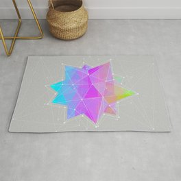 The Dots Will Somehow Connect (Geometric Star) Rug